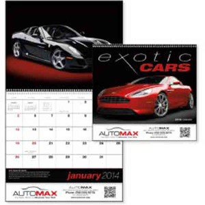 Appointment Calendars - Exotic Cars Appointment Calendars