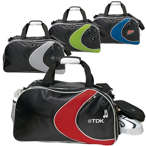 Custom Designed Canadian Manufactured Extreme Sports Duffel Bags!