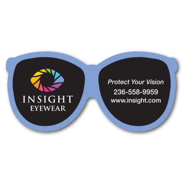 Custom Designed Canadian Manufactured Reading Glasses Stock Shaped Magnets