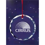 Custom Imprinted Christmas Ornament Crystal Gifts