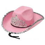 Custom Imprinted Felt Tiara Cowboy Hats