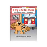 Custom Imprinted Fire Department Coloring and Activity Books