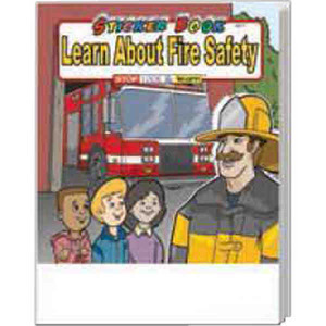Personalized Fire Department Coloring and Activity Books!