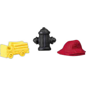 Fire Department Promotional Items - Fire Department Pencil Eraser Tops