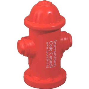 Custom Imprinted Fire Department Stress Ball Squeezies!