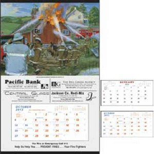 Custom Designed Fire Hanger Commercial Calendars!