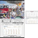 Custom Printed Fire Safety Calendars!