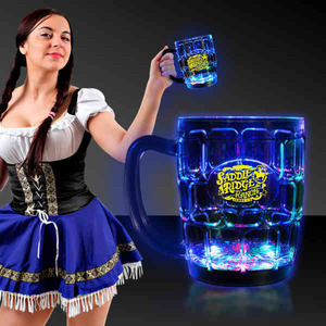 Drinkware - Flashing Beer Mugs