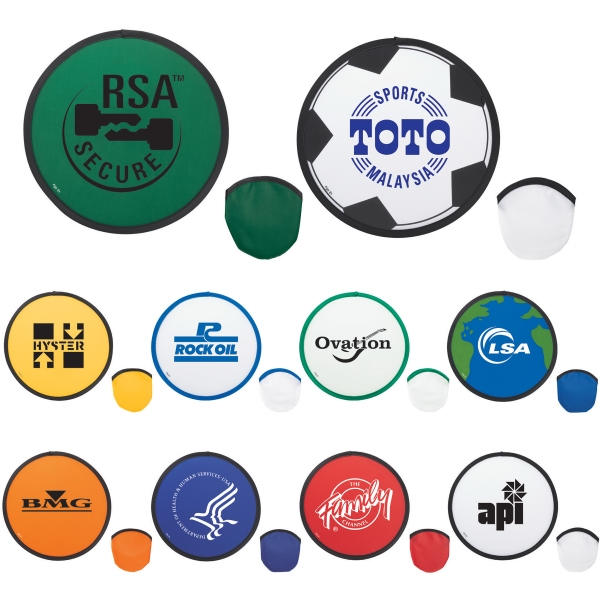 Custom Designed 1 Day Service Nylon Flying Discs