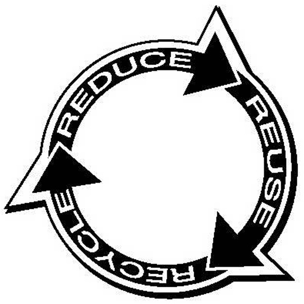 Custom Made Canadian Manufactured Recycle Symbol Stock Shaped Magnets!