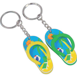 Custom Imprinted Flip Flop Key Tags!