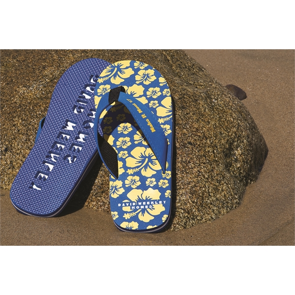 Custom Imprinted The Newport Surf Flip Flop Sandals