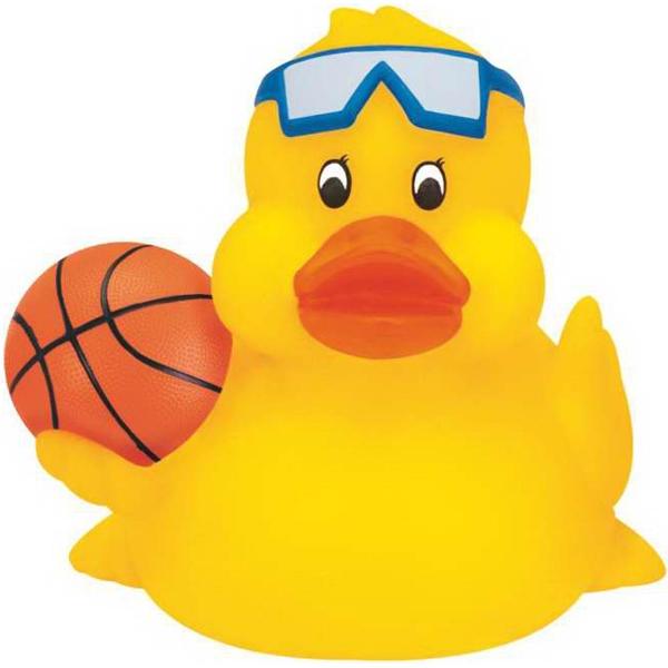 Custom Imprinted Basketball Rubber Ducks!