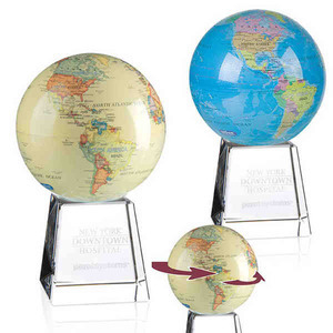 Globe and Earth Promotional Items - Floating Globe Awards