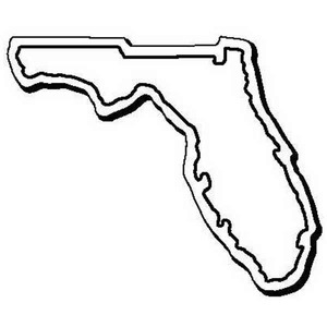 Custom Imprinted Florida Shaped Magnets