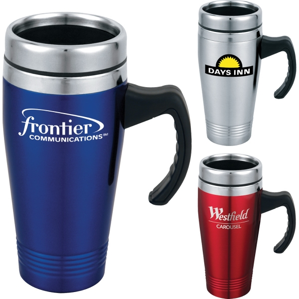Customized 1 Day Service Rubber Shell Travel Tumblers