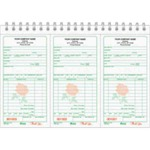Custom Made Florist Sales Receipt Books