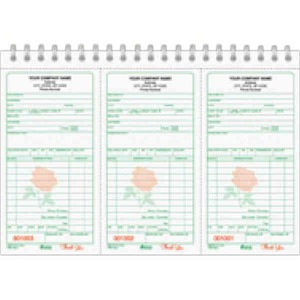 Receipt Books -