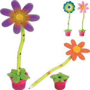 Flower Themed Fun Pens -