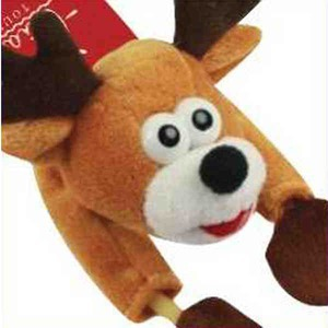 Custom Imprinted Flying Noise Making Reindeer Toys!