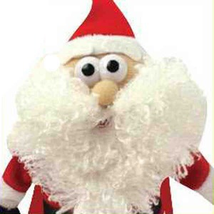 Christmas Themed Promotional Items - Flying Noise Making Santa Clause Toys