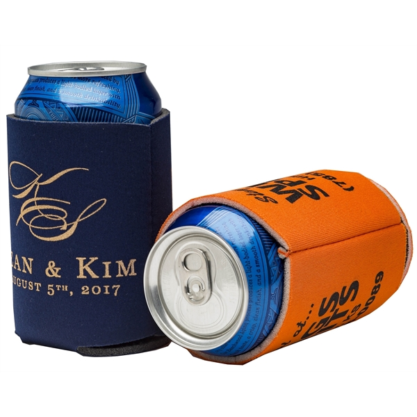 Custom Imprinted Classic Can Coolers!