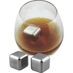 Custom Printed Stainless Steel Ice Cubes!