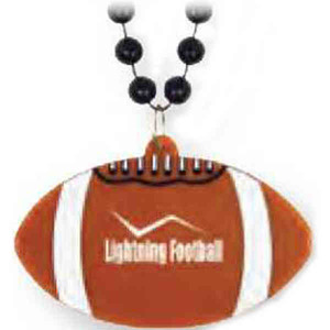 Custom Printed Football Bead Necklaces