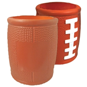 Custom Imprinted Football Helmet Shaped Can Coolers