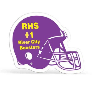 Football Promotional Items - Football Helmet Shaped Magnets