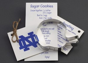 Football Promotional Items - Football Helmet Stock Shaped Cookie Cutters