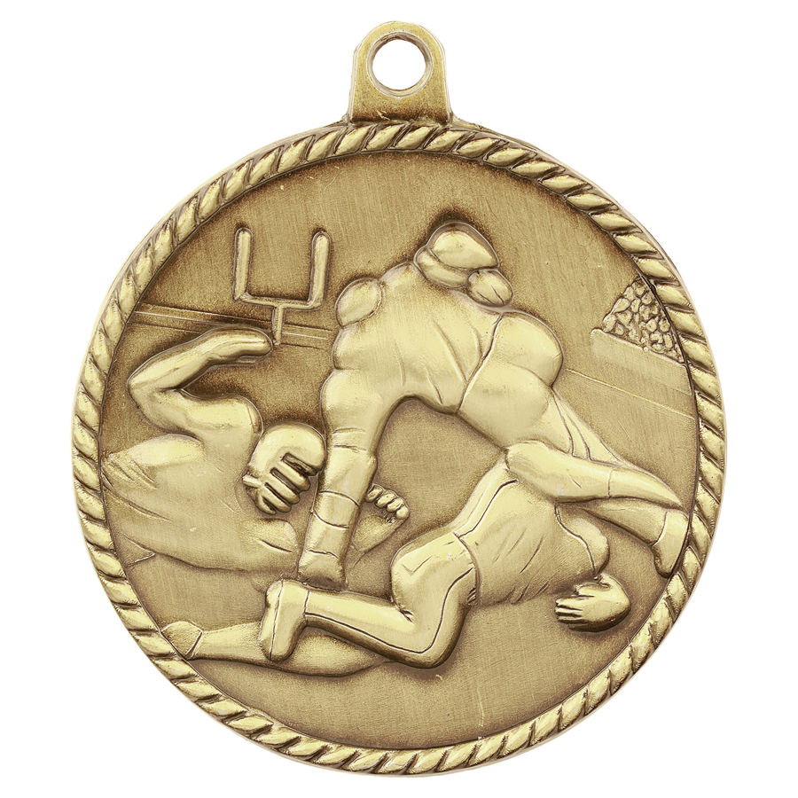 Customized Football High Relief Medals!