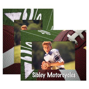 Custom Printed Football Paper Picture Frames!