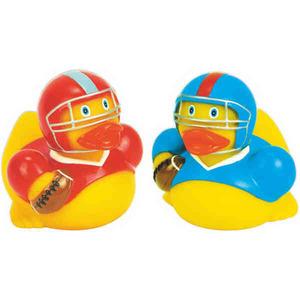 Customized Football Rubber Ducks!
