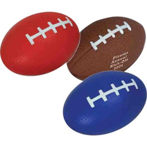 Custom Made Football Shaped Stress Relievers!