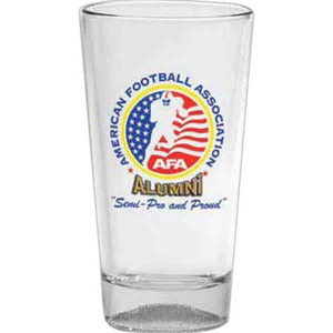 Custom Imprinted Football Sport Pint Glasses