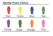 Custom Imprinted Deluxe Top Side Sandal Flip Flops!