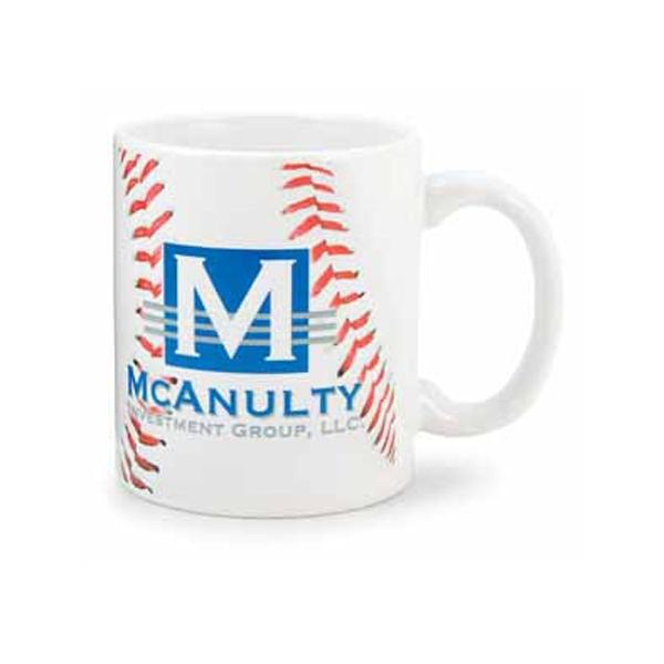 Custom Printed Baseball Sport Mugs!