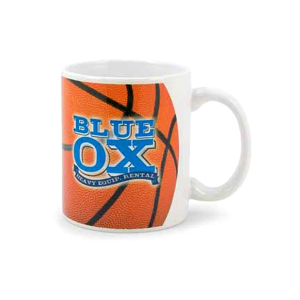 Custom Imprinted Basketball Sport Mugs
