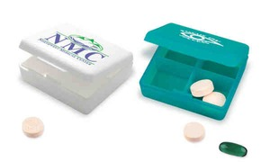 Custom Imprinted 4-Day Pill Boxes