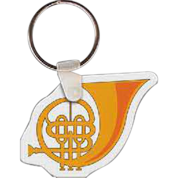 Personalized French Horn Shaped Stress Relievers