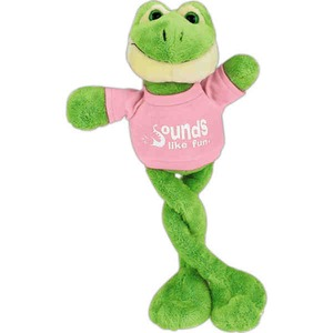 Frog Themed Promotional Items - Frog Posable Stuffed Animals