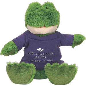 Personalized Frog Beanbag Animals!