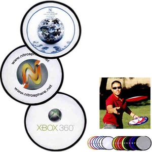 Flying Saucers And Discs - Full Color Digital Imprint Nylon Flyers