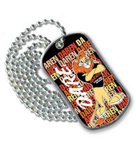 Custom Imprinted Full Color Dog Tags