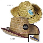 Custom Imprinted Full Color Imprint Cowboy Hats