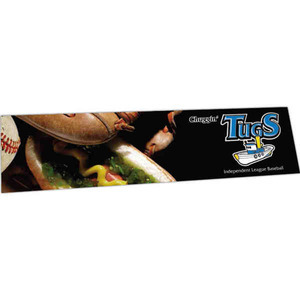 Custom Imprinted Full Color Imprint Removable Adhesive Bumper Stickers!