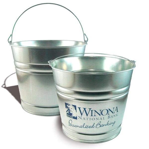 Tin and Galvanized Buckets -