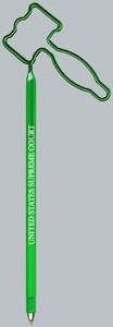 Political Bent Shaped Pens -