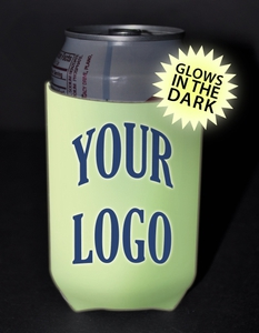 Custom Imprinted Glow in the Dark Can Coolers